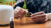 Here's everything you need to know about cleaning with essential oils. Source: Getty
