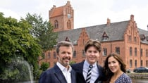 Frederik and Mary looked proud as punch with their eldest son Christian. Source: Facebook/ Det danske kongehus