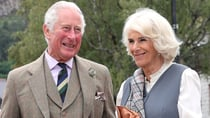 Charles and Camilla were all smiles on a day out in Scotland. Source: Getty