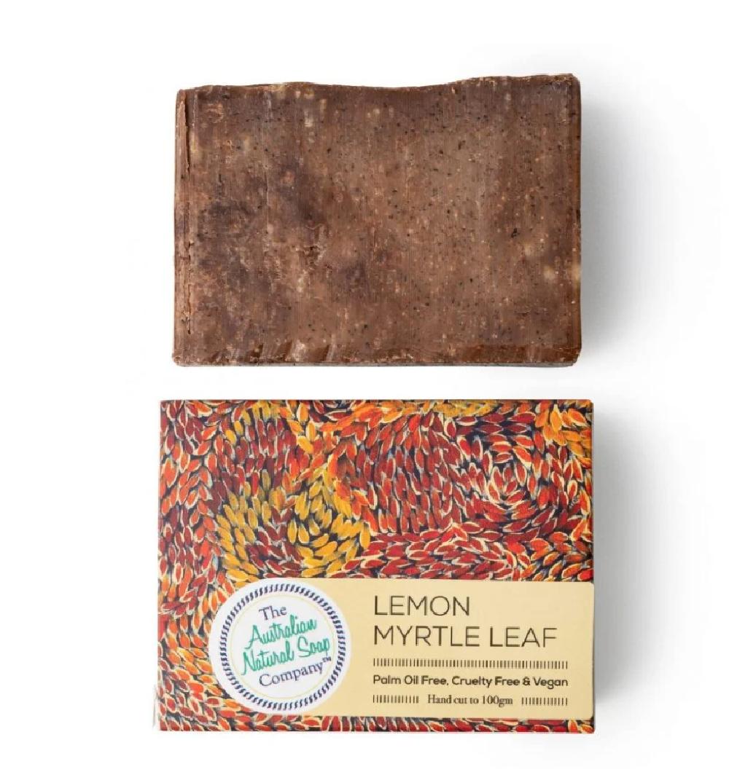 Lemon Myrtle Leaf soap bar