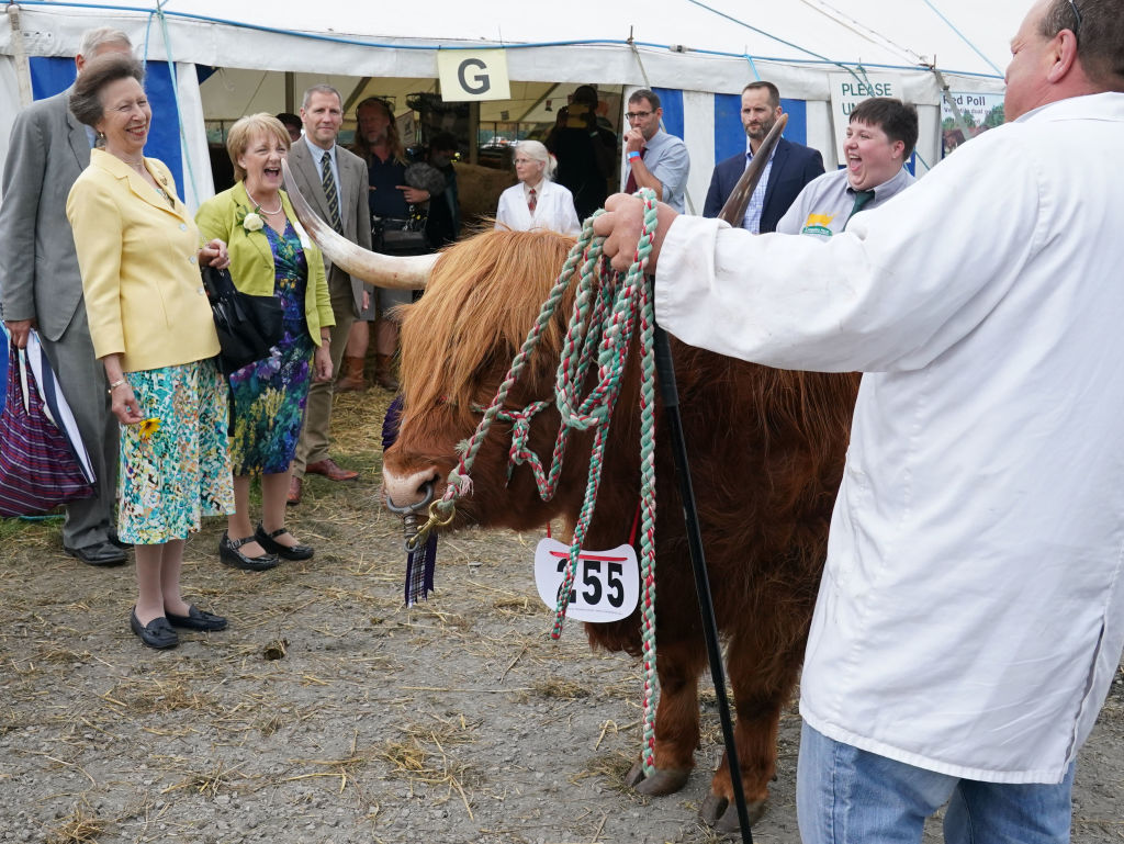 The Princess Royal And Countess Of Wessex Attend The Westmorland County Show