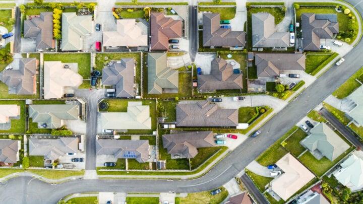 Birdseye view of a housing estate. Source: Getty