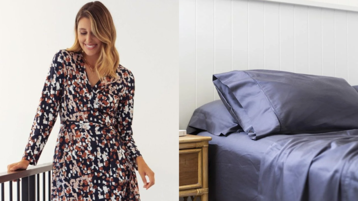 Pick up great deals on women's clothing and bed linen.