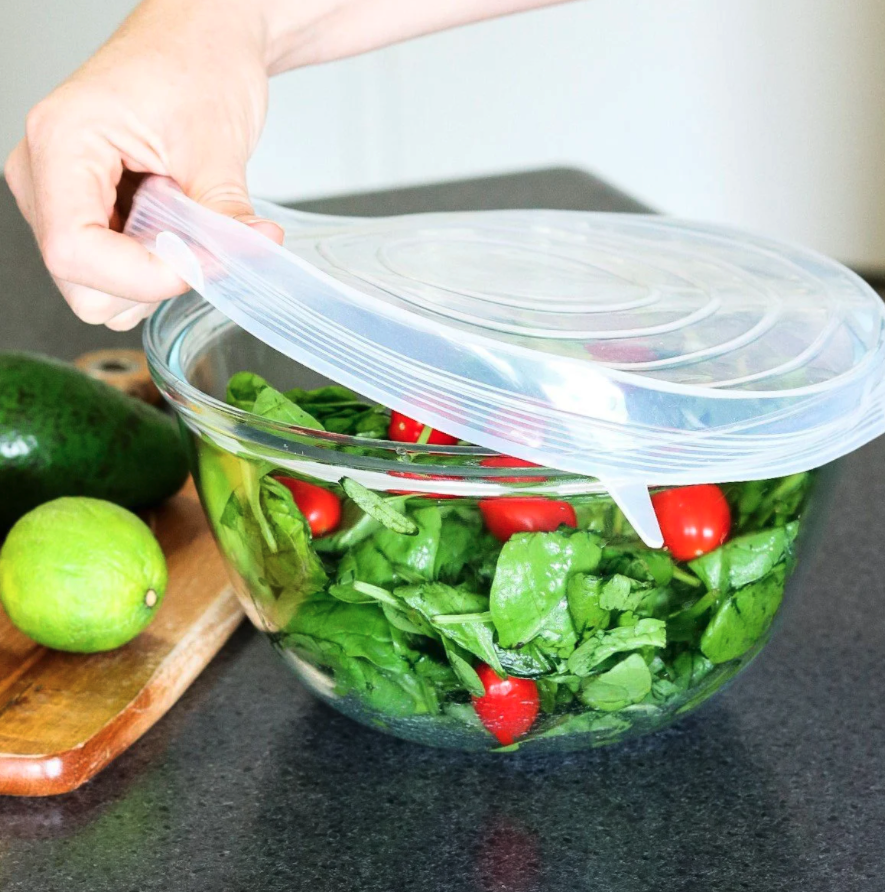 Reusable Food Grade Silicone Stretch Lid Set