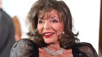 Joan Collins attends Michael Josephson MBE Charity Ball in glamorous black dress. Source: Getty Images.